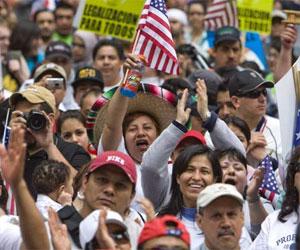 Inmigrantes en los Estados Unidos