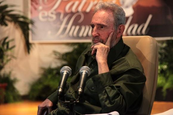 Fidel Castro en el Memorial José Martí. Foto: Silvio Rodríguez