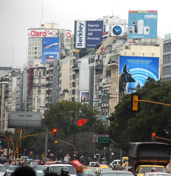 La publicidad del contraste, Argentina. Foto: Kaloian
