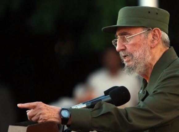 Fidel en la Universidad de La Habana, 3 de septiembre de 2010. Foto: Ismael Francisco