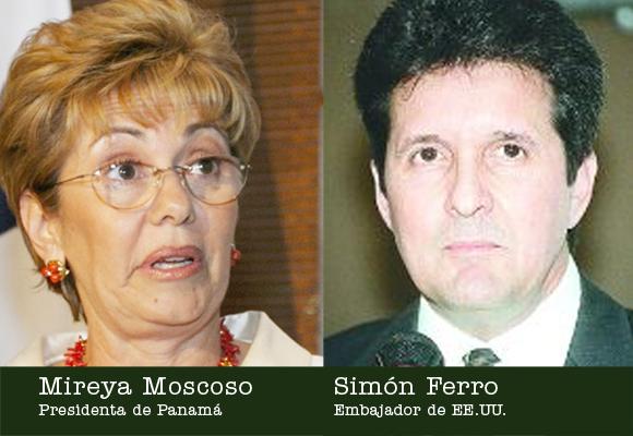 La ex presidenta de Panamá rinde cuenta al embajador norteamericano sobre la liberación de los cuatro terroristas cubanos.