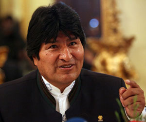 Evo Morales. Foto de archivo