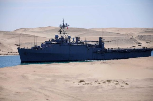 LIBYA-POLITICS-UNREST-US-MILITARY-SHIPS-EGYPT