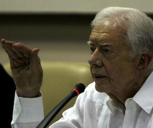 Jimmy Carter en La Habana, el 31 de marzo de 2011. Foto: Cubadebate