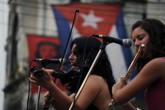 Concierto de Silvio Rodríguez en Jesús María y José. Foto: Silvio Rodríguez