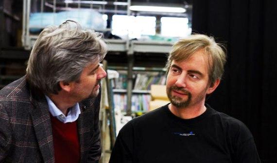 Geminoid DK es un clon de su creador, el profesor Henrik Scharfe. Foto: Read Write Web