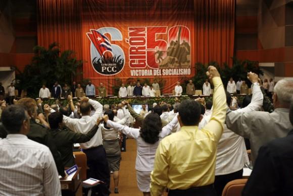 Clausura del VI Congreso del Partido. Foto: Ismael Francisco
