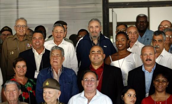 El nuevo Comité Central. VI Congreso del Partido. Foto: Ismael Francisco