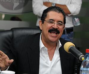 Manuel Zelaya. Foto: Archivo.