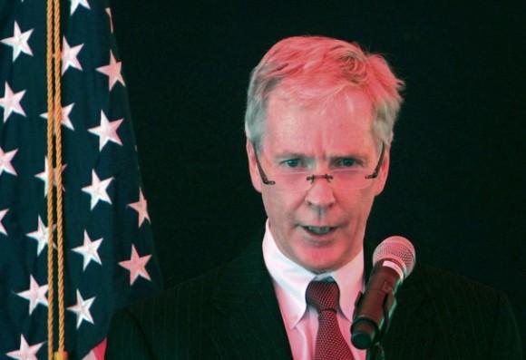 Ryan Crocker, embajador de EEUU en Afganistán.