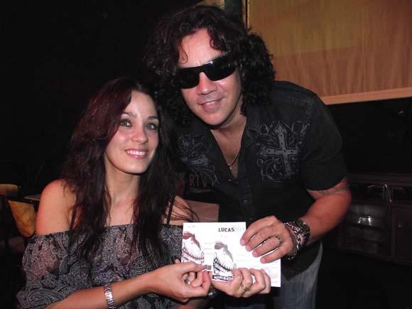 """Osamu y Yory Gómez, fueron nominados en Pop Rock con el vídeo """"No me cortes las alas"""" de Julio César Leal e Ismar Rodríguez. Foto: Marianela Dufflar"""
