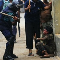 Violencia policial contra niños (+ Fotos impactantes)