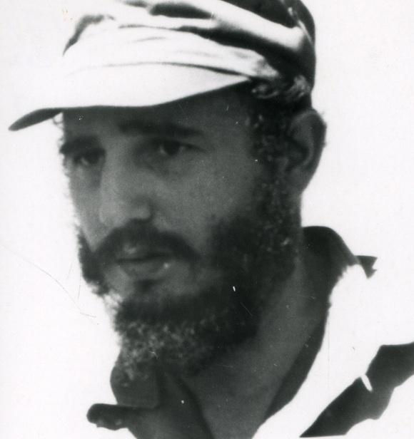 Fidel Castro en enero de 1959. Foto: Archivo de Asuntos Históricos del Consejo de Estado