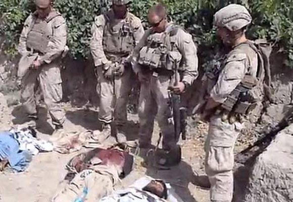Marines orinando sobre cadáveres de talibanes (ampliación)