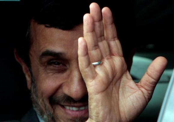 Ahmadinejad en La Habana. Foto: Ismael Francisco