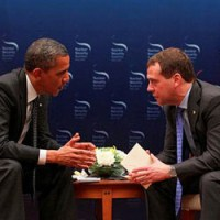 Micrófono abierto capta conversación Obama-Medvedev sobre sistema de defensa antimisiles