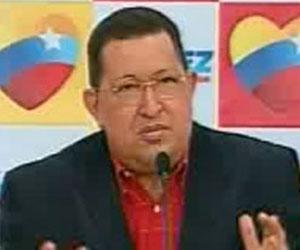 Hugo Chávez, en conferencia de prensa