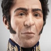 Presentan rostro digitalizado de Simón Bolívar