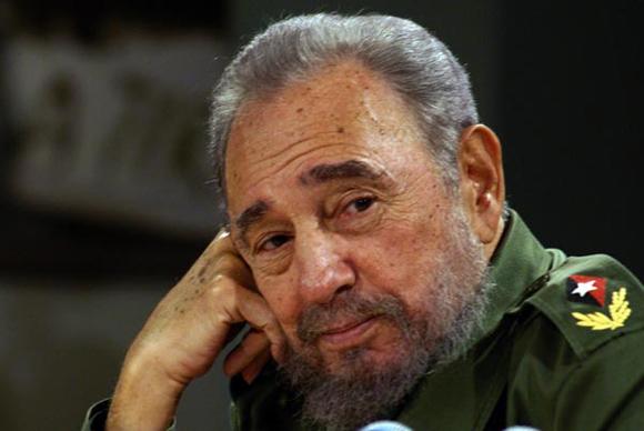 Fidel Castro en  Mesa Redonda Informativa.  Foto: Ismael Francisco/Cubadebate.