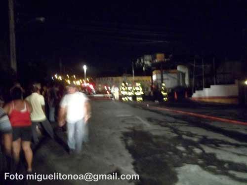 Controlado incendio en gasolinera de Santiago de Cuba