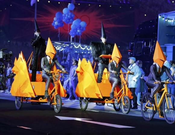 Los Pet Shop Boys en Ceremonia de cierre JJOO Londres 2012
