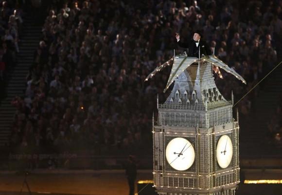 Timothy Spall en el rol de Winston Churchill. Foto: Reuters