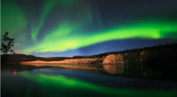 Aurora Boreal vista en Canadá 14 septiembre 2012