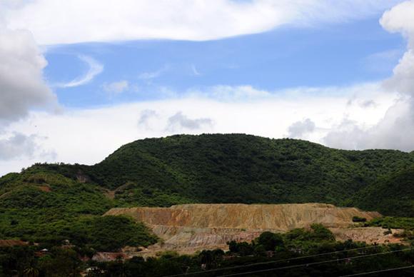 Minas de cobre a cielo abierto. Foto: Ladyrene Pérez/Cubadebate.