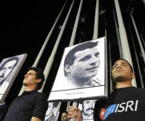 Vigilia víctimas cubanas del terrorimo