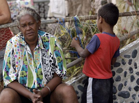 Deysi Sánchez, pobladora de Mar Verde. Foto: Ismael Francisco/Cubadebate.