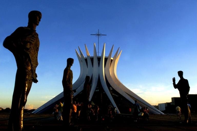 Catedral de Brasilia. Foto:AP