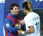 Neymar y messi mejores
