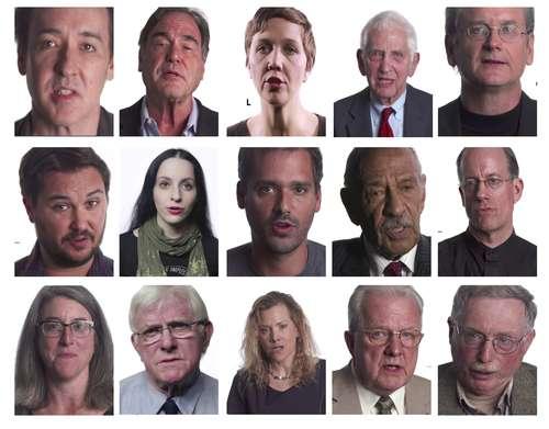 """""""¡DEJEN DE VIGILARNOS!"""". El director Oliver Stone, la actriz Maggie Gyllenhaal y el actor John Cusack, entre otros, se han unido a ex empleados de la NSA y grupos ultraconservadores del Tea Party para fundar la coalición StopWatching.us Dpa, que este sábado realizará una marcha de protesta en Los Ángeles. La historia nos dice que tenemos que vigilar a los vigilantes, dice Stone en la grabación (http://dpaq.de/HwG2M)Foto Dpa"""