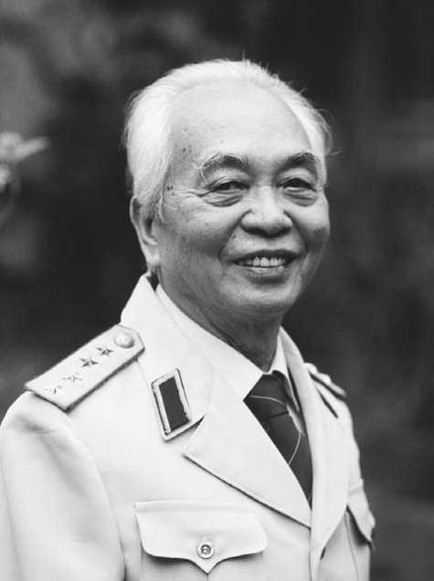 El General retirado Giap en 1991