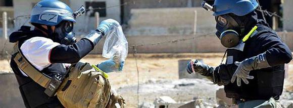 Los inspectores completarán el equipo de reconocimiento que está en Siria desde el primero de octubre e intentará aumentar el ritmo de verificación y destrucción del arsenal químico. No se precisó la fecha en la que llegará a territorio sirio.