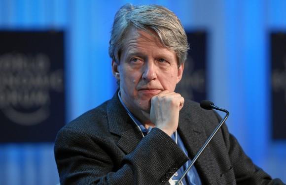 Rober J. Shiller, nuevo Premio Nobel de Economía. Foto: Moritz Hager.