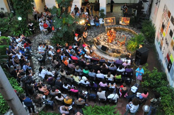 El Centro Pablo durante el concierto de Marta Valdés. Foto: Lynet Pujol/ Centro Pablo.