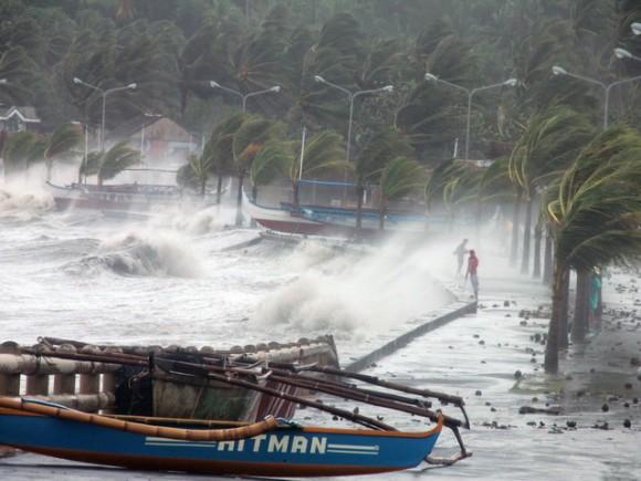 PHILIPINES-WEATHER-TYPHOON