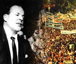 João Belchior Marques Goulart, conocido popularmente como Jango (San Borja, Río Grande do Sul, 1 de marzo de 1918 - Mercedes, Corrientes, Argentina, 6 de diciembre de 1976) fue el vigésimo segundo presidente del Brasil, entre, 1961 y 1964.