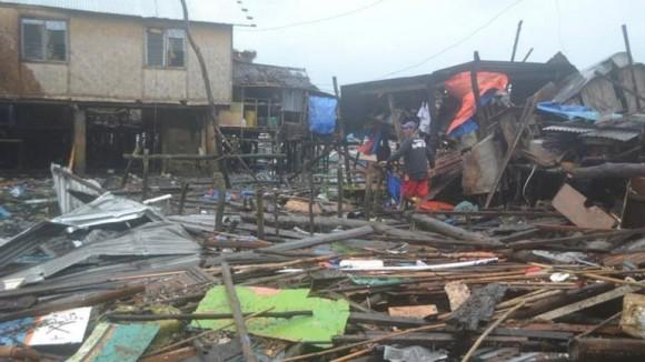 tifón en filipinas 2013