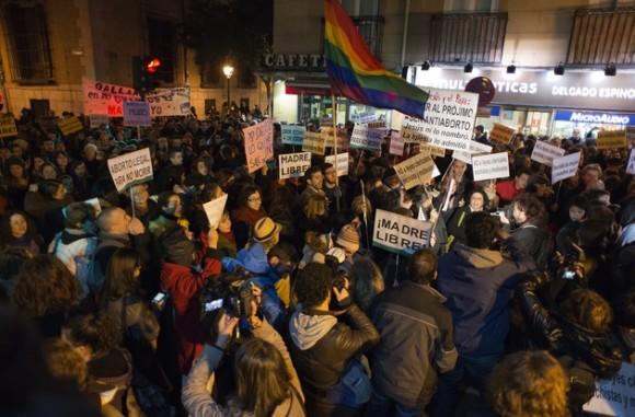 ley aborto españa protesta