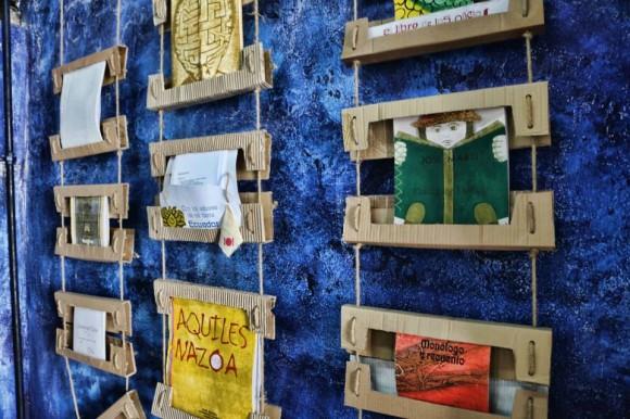 Colecciones de la Editorial Cuadernos Papiro, Holguín – Cuba. Foto: Jean-Claude Orru / Cubadebate