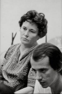 Silvio Rodríguez y Haydeé Santamaría. Foto: Blog Segundacita