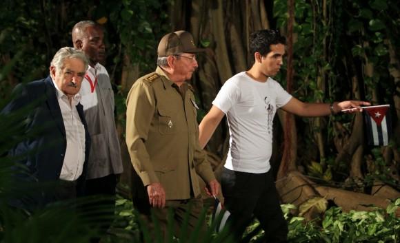 En la Fragua Martiana, Presidentes de CELAC. Foto: Ismael Francisco/ Cubadebate