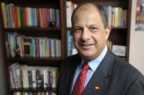 Luis Guillermo Solís. Foto: La Nación/ Costa Rica