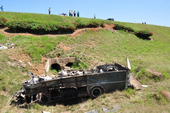 Accidente en la carretera a Soroa. Foto: Humberto Líster/Juventud Rebelde