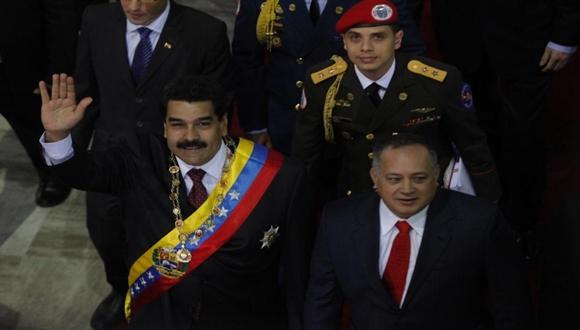 Celebra Nicolás Maduro en su primer año de gobierno