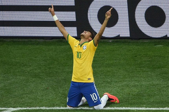 Neymar  A