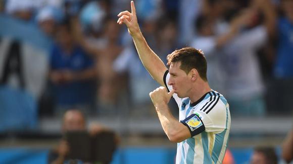 Messi ha salvado dos veces a Argentina. Foto: AFP.