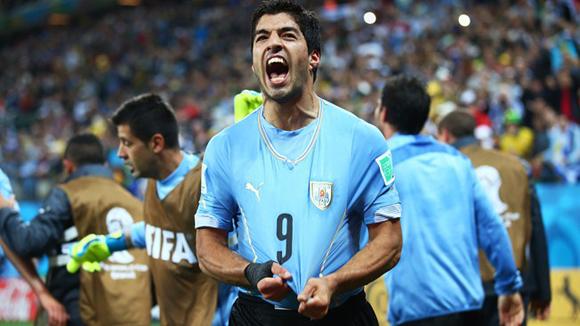 Luis Suárez, alma y corazón de la celeste. Foto: Getty Images.